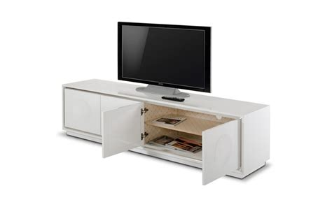 rooms to go tv stand a x grand modern white crocodile lacquer tv stand entertainment centers living room