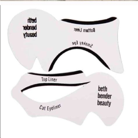 winged eyeliner template 72 accessories winged eyeliner stencils from