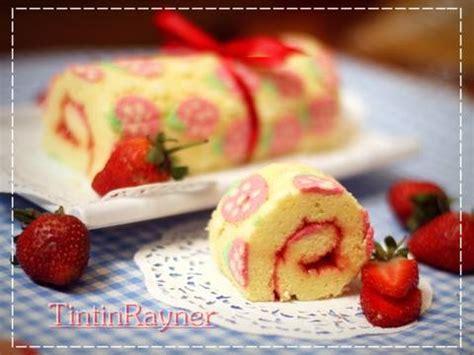 cara membuat zip n roll resep cara membuat motif pada japanese roll cake how to