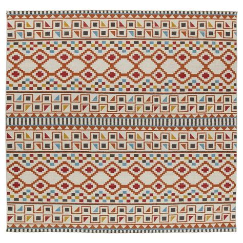 Area Rugs 8 X 8 Kaleen Nomad Paprika 8 Ft X 8 Ft Square Area Rug Nom08 53 8 X 8 The Home Depot
