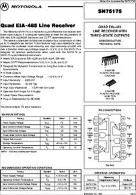 SN75175/D datasheet