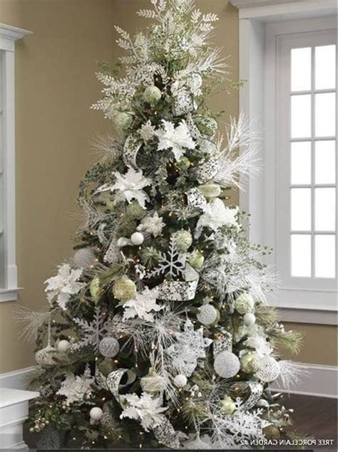 white tree decorations uk 65 tree colour combinations to drool stay