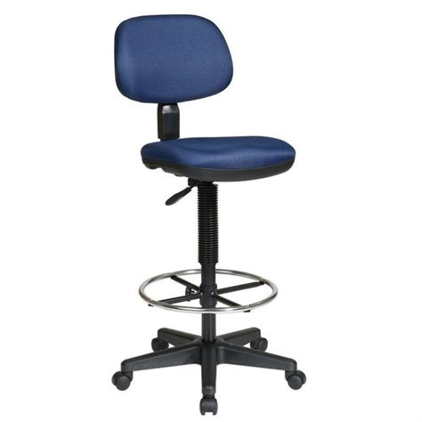 sculptured seat and back drafting chair dc517 a