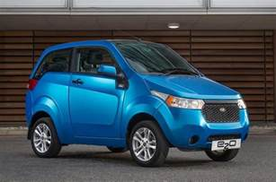 Electric Car Uk Mahindra E2o Electric Car Launched In Uk Priced From Rs