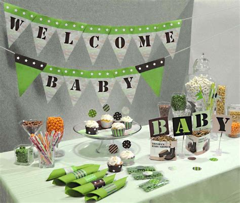 Camouflage Baby Shower by Camouflage Baby Shower Ideas Baby Ideas