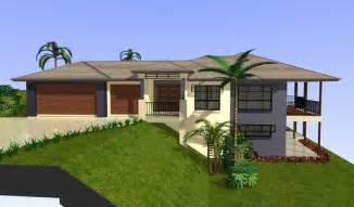 House Plans For Sloping Lots house plans design on waterfront home plans sloping lots house plans