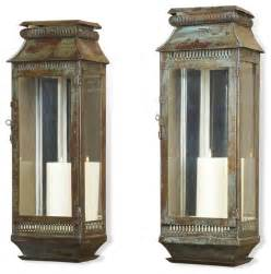 Outdoor Candle Wall Sconces Modena Moroccan Rustic Pair Wall Sconce Lanterns Transitional Candles And Candleholders