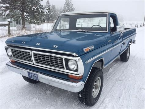 1970 Ford F100 For Sale by 1970 Ford F100 4x4 Box 360 For Sale Photos