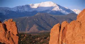 Garden Of The Gods History Pikes Peak And Garden Of The Gods Colorado Pictures