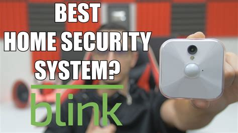 the best home security system blink