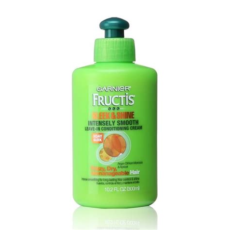 7 Fab Leave In Conditioners by 10 Best Garnier Fructis Sleek Shine Intensely Smooth