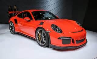 Porsche Gt3 Rs Price 2016 Porsche 911 Gt3 Rs Release Date Changes Specs