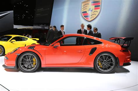 porsche gt3 rs 2016 2016 porsche 911 gt3 rs arrives in u s this july with 500 hp