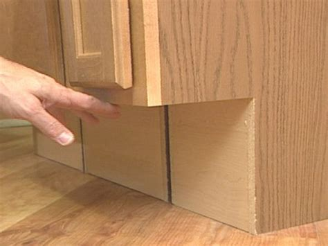 how to install kitchen base cabinets how to install kitchen base cabinets