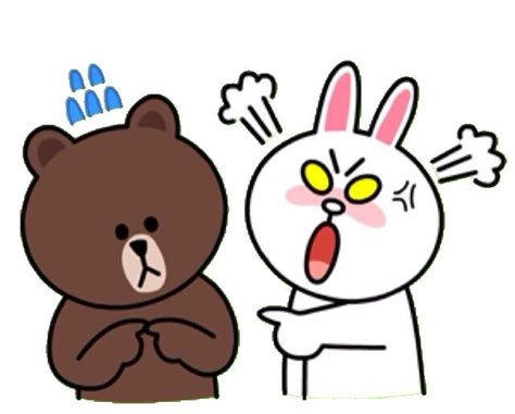 Brown Line Characters 1000 images about brown cony on photos brown and