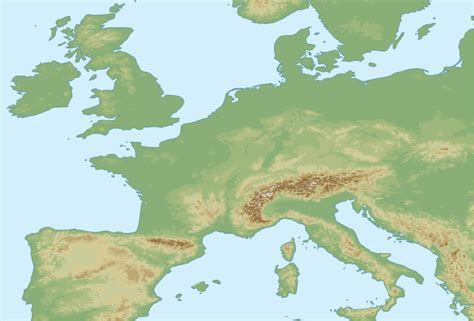 europe elevation map geophysics why is the elevation of the iberian peninsula