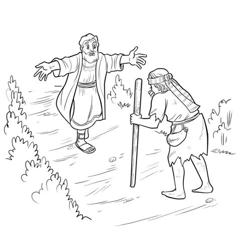 Prodigal Coloring Page Prodigal Son Coloring Pages Preschool Coloring Home