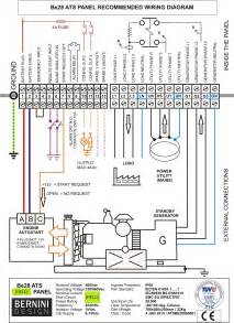 wiring standby generator transfer switch genset controller