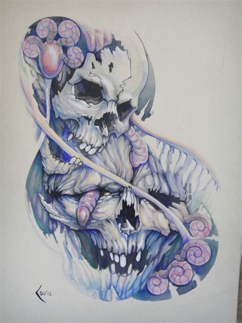 tattoo design skulls by xenija88 on deviantart