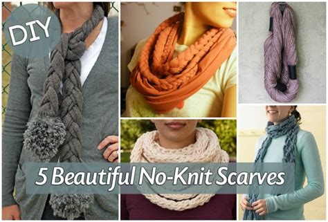 how do you knit a scarf how to make a no knit scarf blissfully domestic