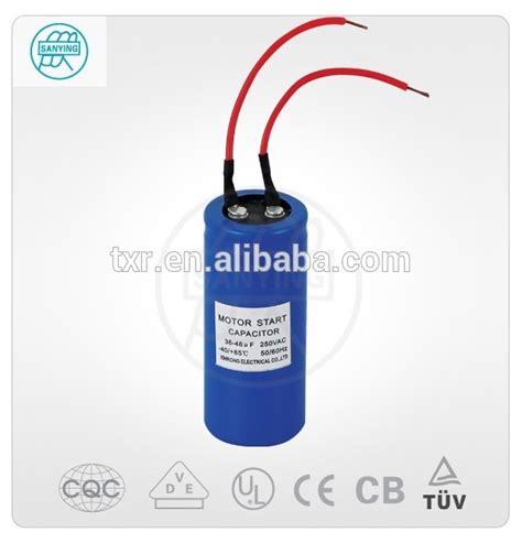 capacitor brand name sanying brand capacitor cd60 a12 motor run 61uf capacitors from taizhou xinrong electric