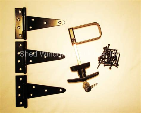 Shed Hinges And Locks by Shed Door Hardware 5 Quot Hinges T Handle Screws Heavy Duty