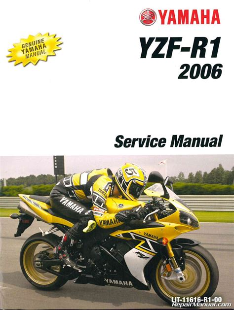 motocross bike repairs 2006 yamaha yzf r1 motorcycle service manual