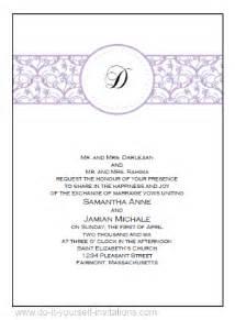 free wedding invitation maker invitation ideas