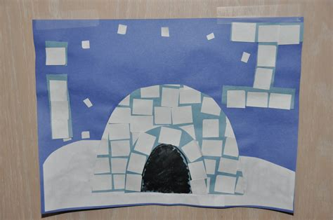 igloo crafts for children s learning activities i for igloo
