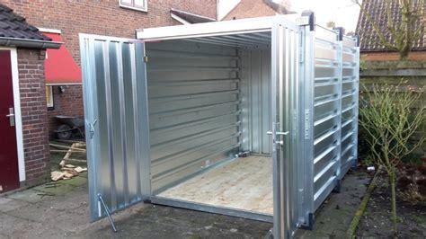 schuur container opslagcontainer materiaalcontainer container tuinhuisje