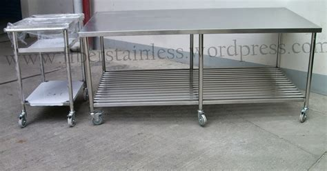 Jual Aneka Macam Trolley Stainless: Meja stainless