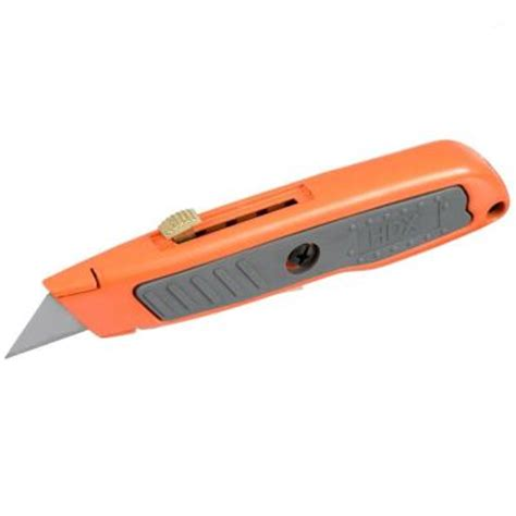 how to hone knife hdx retractable utility knife 60037 the home depot