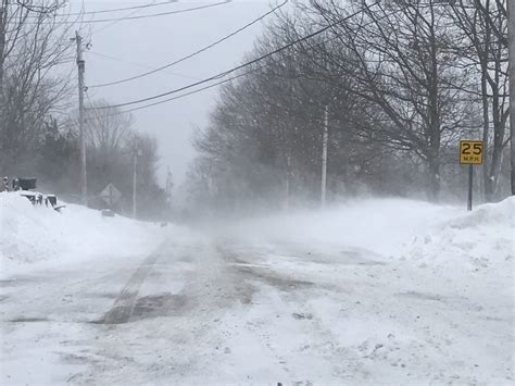 blizzard predictions 2017 as snowstorm winds down central maine starts digging out