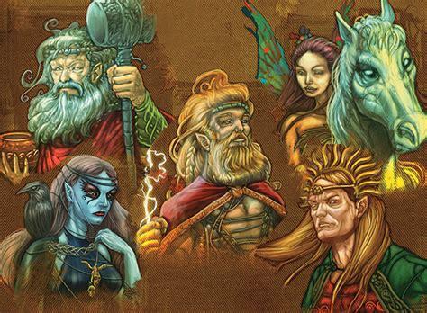imagenes mitologicas de dioses dioses celtas 187 lista de las principales deidades celtas
