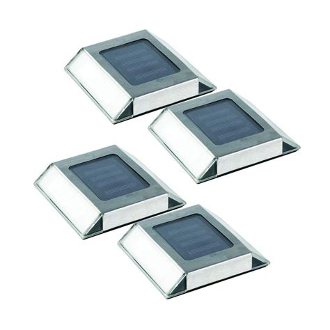 flat solar lights for driveway nature power stainless steel outdoor solar pathway light