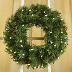christmas wreath the symbolism of a lighted christmas wreath lighted