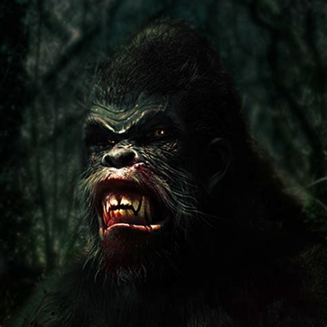 history of bigfoot monster bigfoot news bigfoot lunch club new ish art from