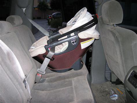 free infant car seat program free program installing a car seat using a