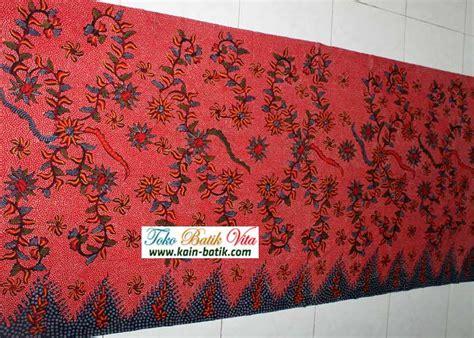 Kain Batik Madura Motif Mutiara Ungu batik madura klasik kbm 5939 kain batik murah