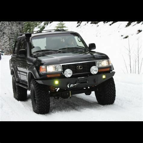 slee fj80 1990 1997 fj80 fzj80 winch bumper kit