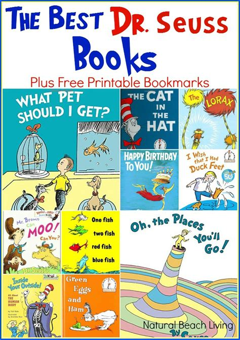 best books free the best dr seuss books free printable