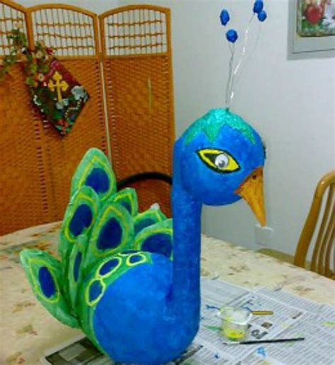 How To Make A Paper Mache Peacock - 42 best of paper mache craft ideas hubpages
