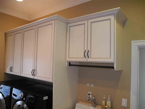 laundry room cabinets with hanging rod pics for gt laundry room cabinets with hanging rod