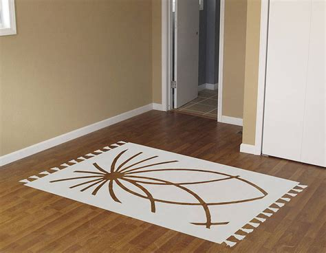 rug vinyl floor sticker contemporary wall stickers