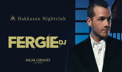 Hakkasan Calendar Dj Fergie Tickets And Lineup On Jun 5 2014 At Hakkasan At