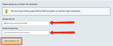 amazon uk login how to back up egnyte to amazon s3 glacier cloudhq support