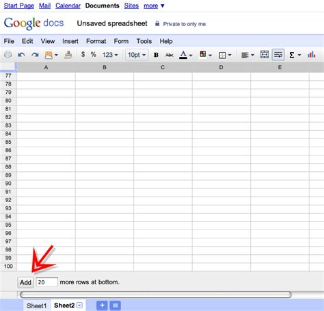 Goggle Spreadsheet by Insert Rows Anywhere In A Docs Spreadsheet