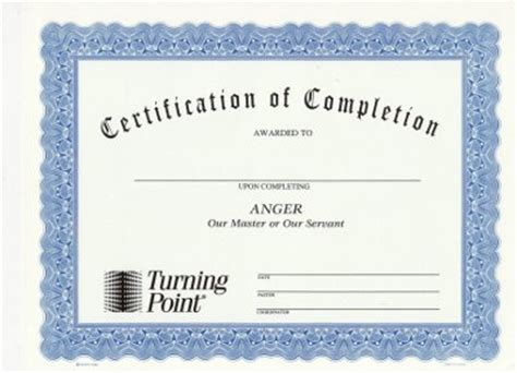 Pin Marriage Certificate Blank Printable On Pinterest Anger Management Completion Certificate Template