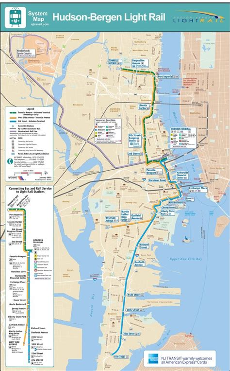 Nj Light Rail Schedule by Hudson Bergen Light Rail Maplets