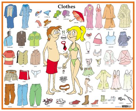 clothing themed words articles of clothing worksheet google search spanish